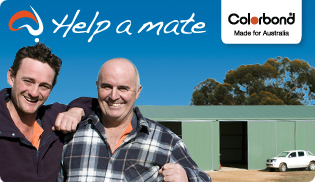 COLORBOND® steel - Help a Mate
