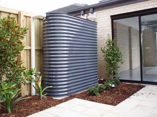 Slimline Water tanks - Baffle Model