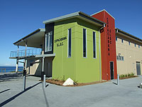 A new surf lifesaving club at Copacabana Beach on the NSW Central Coast features a roof made from PERMALITE® cladding.