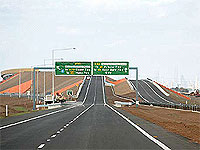 Melbourne's newest bypass uses nearly 800 tonnes of GALVABOND® Steel.