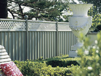 Fencing  made from COLORBOND® steel