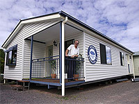 Olympiade Transportable Homes owner, Frits van der Plas