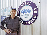 Henry Ronchi is one of only two people operating Kel Steel Constructions in Armadale, WA