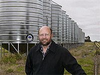 Campbell Silos Production Manager, Ian Meek
