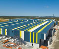 The Gold Coast Desalination Project uses roofing and walling made from PERMALITE® in V-RIB® and LT7™ profiles.