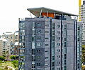 The envole* building at Pyrmont, NSW, is roofed with PERMALITE SHOREDEK™ and LYSAGHT LONGLINE 305®