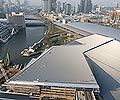 LYSAGHT KLIP-LOK® roofing was used on the Melbourne Convention Centre which was awarded a 6 star Green Star environmental rating by the Green Building Council of Australia