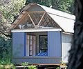 The Smartshax home uses roofing made from COLORBOND® steel