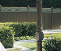 Metroll fencing made from COLORBOND® steel in colour Hedge®
