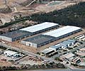 The Insight Logistics Park complex at Stapylton in Queensland, is constructed using 48,000 square metres of 0.48 BMT LYSAGHT KLIP-LOK 700 HI-STRENGTH® and 231 tonnes of LYSAGHT SUPAZED® purlins as part of the roof framing package.