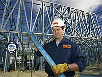 Andrew Fowler from Aus-Truss specialises in providing lightweight building and roof frames made from 1.2mm grade TRUECORE® steel.