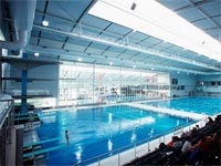 Melbourne Sports & Aquatic Centre has its roofs and walls clad in LYSAGHT CUSTOM ORB® and LYSAGHT KLIP-LOK® 406