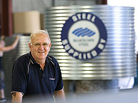 Cooroy Sheet Metal and Tank Works, a member of the STEEL BY™ Brand Partnership Program, has expanded to three factories since Brian Durrington started the company in the 1980s.