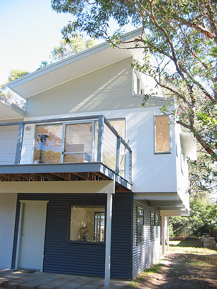 renovated classic 1960s beach house on the north side of