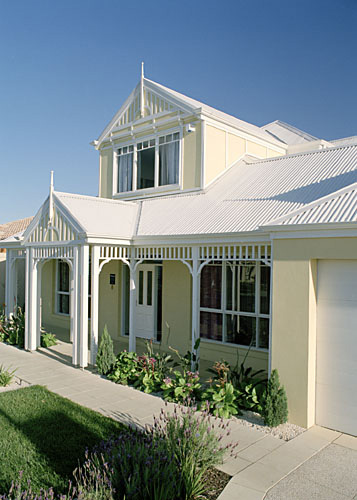 The canterbury by metricon homes has roofing made from colorbond steel - Images of home ...