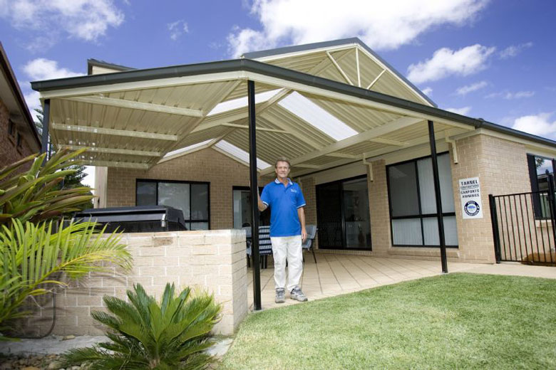 Colin Tarman Whose Company Builds Pergolas With Roofing