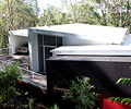 This Sunshine Coast home is a unique design clad almost entirely in LYSAGHT CUSTOM ORB® profile roll formed in ZINCALUME®  steel.