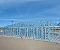 Steel house framing made from TRUECORE® steel