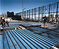 About 20,000 square metres of LYSAGHT BONDEK® acts as permanent formwork on the A$65 million development in the heart of Melbourne.