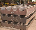 Concrete railway sleeper moulds made from XLERPLATE® steel are in steady demand from Queensland Steel Products.