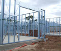 Steel framing made from TRUECORE® steel