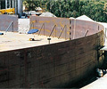 This water reservoir was constructed using grades 350 and 250 XLERPLATE® steel.