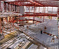 Burswood Casino in Perth under construction using LYSAGHT BONDEK® structural decking.