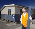 Stylewise Homes' General Manager Steve Crates uses COLORBOND® steel extensively for his company's relocatable homes.