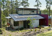 The Brookwater Design Studio, Brookwater, Queensland has roofing and walling made from COLORBOND® steel.