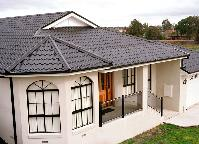 Austech Roof made from COLORBONDu0026reg; steel is an all Australian development which achieves the look & BlueScope Steel Australia: Steel Tile Profile a Whole New Roofing ... memphite.com