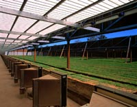 International Shooting Centre, Cecil Park, Sydney uses LYSAGHT PANELRIB® and LYSAGHT KLIP-LOK® 406 made from COLORBOND® steel
