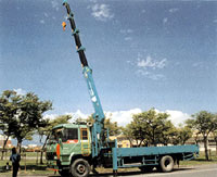 Taiwan's manufacturer, GW Machinery, uses quench and tempered steel to manufacture their truck mounted cranes.