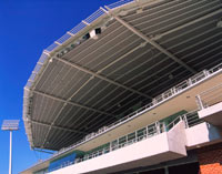 NSW State Hockey Centre, Homebush Bay uses LYSAGHT KLIP-LOK® 406 for roofing